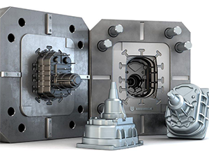 Pressure Die Casting Mold In H13 Hardened To 42HRC